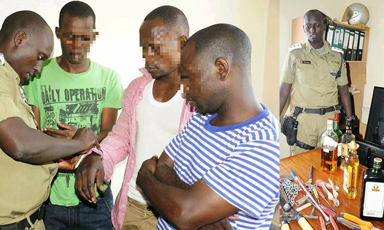 CITY HOUSE BREAKING THUGS ARRESTED