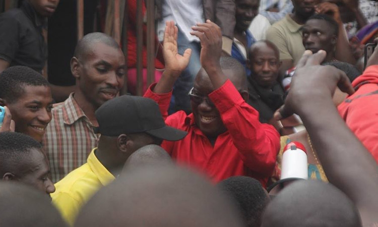 MP LUBWAMA CHASED AWAY BY NATETE VENDORS